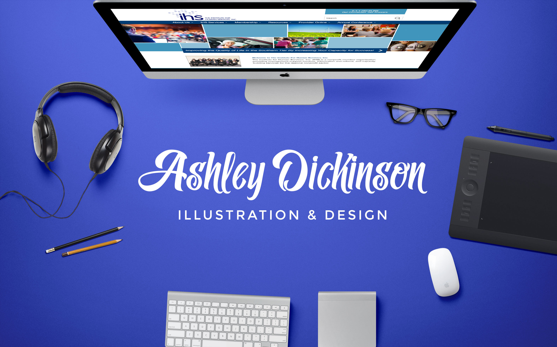 Ashley Dickinson Illustration & Design