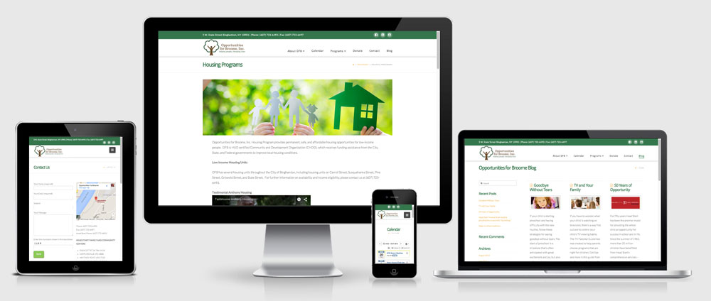 Opportunities for Broome Responsive Website